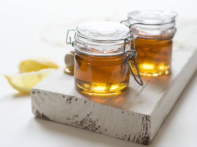 skleničky medu