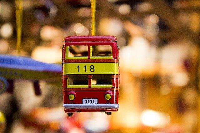 suvenýr autobus