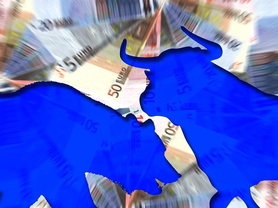 koláž z eur